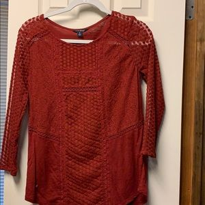 Ladies lucky brand blouse